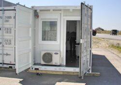 CHV Container Zubehör Klima Anlage