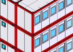 3D Planungsskizze Büro