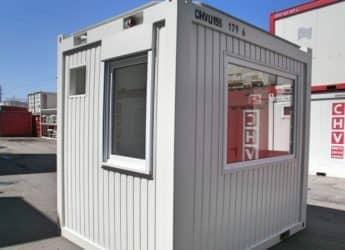 chv containeranlage buerocontainer modul 150_3m Verglasung