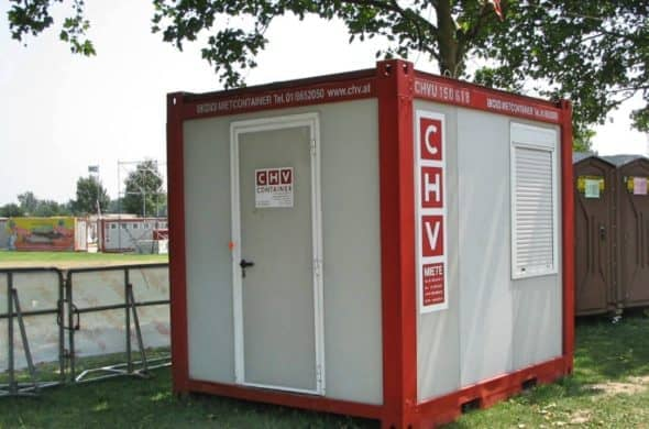 CHV Mietcontainer 10FT Büromodul CHV 150