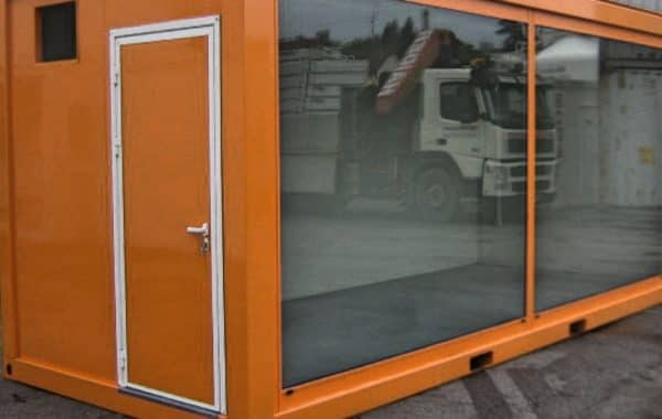 CHV 300 20FT Buerocontainer Glasfront