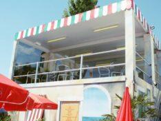 CHV Containeranlagen Modulare Raumsysteme Open Air Cafe Terrasse