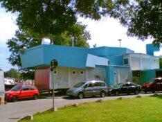 CHV Vordächer und Überdachungen Sonderanfertigung Containeranlage Club Praterstern Fluc