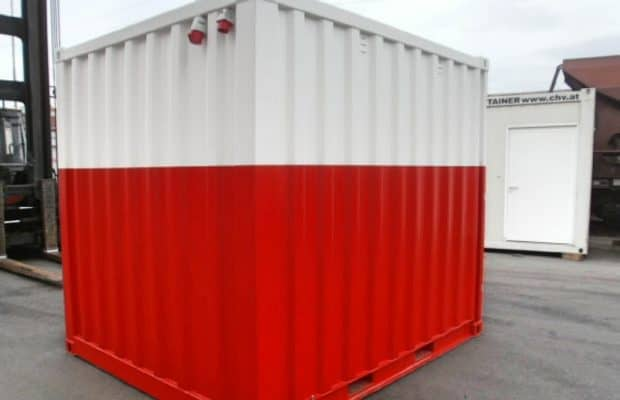 CHV 110 10FT Lagercontainer