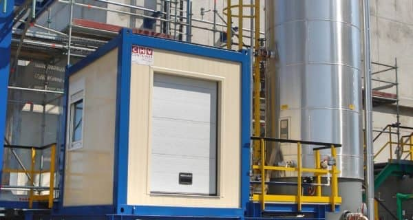 CHV 150 10FT Spezialcontainer ÖMV technikcontainer