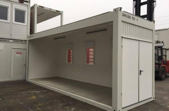 CHV 300.9 Containeranlage 30FT Büro Modul
