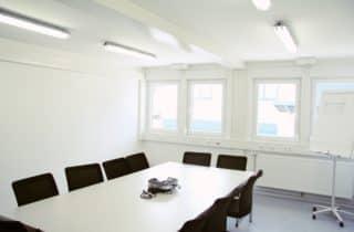 CHV Containeranlage Modulare Raumsysteme Baubüro Besprechungsraum