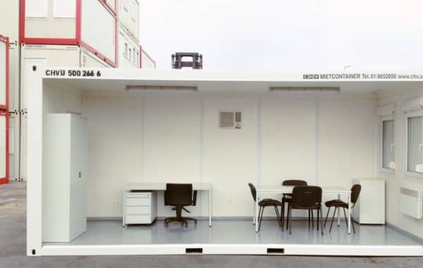 chv baustellen büro container einrichtung zubehör möbel büroeinrichtung