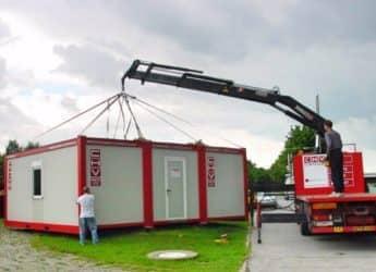 chv buerocontainer 300ER dreieranlage plan