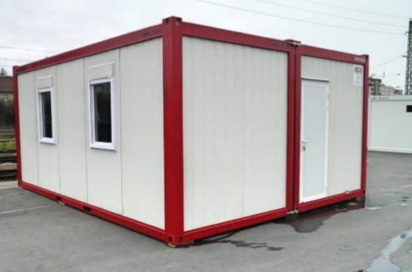 CHV Buerocontainer 300DA Doppelanlage