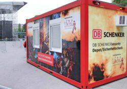 chv container anlagen-und-events Life Ball Büro