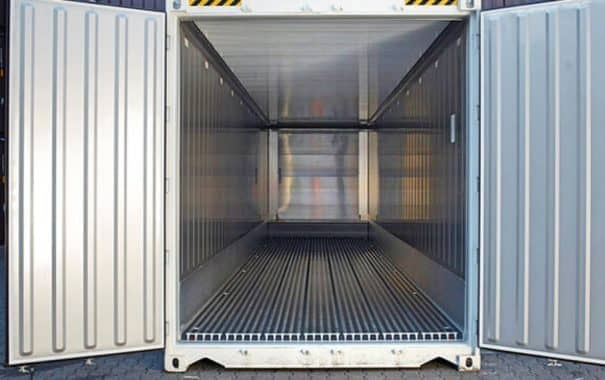 chv Spezialcontainer Kuehlcontainer 40ft Innen