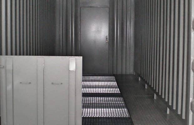 CHV 220 Sicherheitscontainer HASMAT Innen