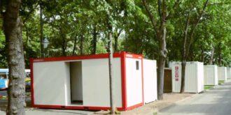 CHV 300 WCU Urinalcontainer 20 Fuß