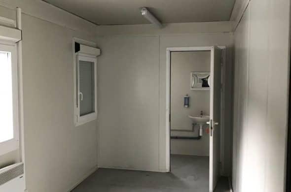 CHV Containeranlage 300 Serie 20FT Bürocontainer Modul Innen