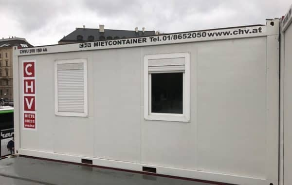 CHV Containeranlage 300 Serie 20FT Bürocontainer Modul