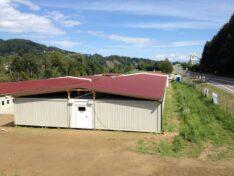 CHV Vordächer und Überdachungen Containeranlage Villach