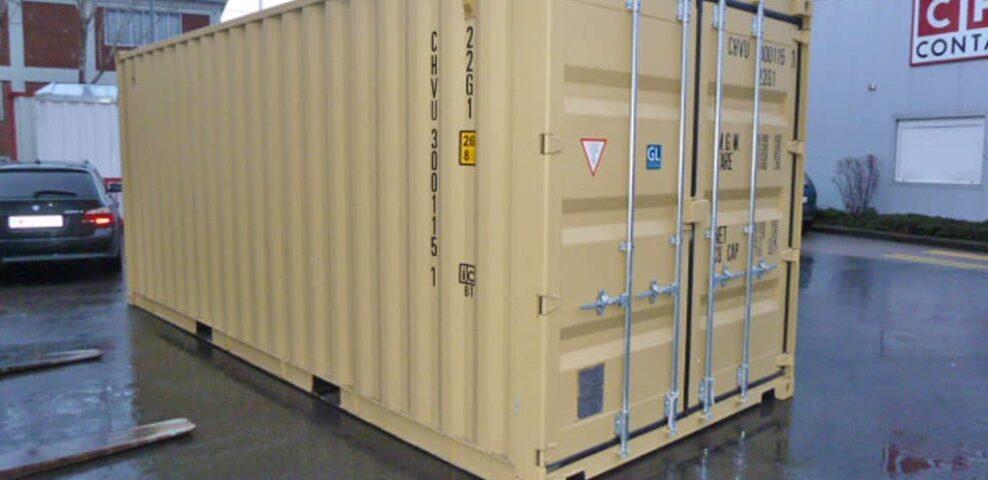 1 stck lagernd neuwertig 20ft6m seecontainer
