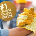 CHV Platz #1 Solid Liferanten Bewertung 2018
