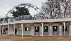 Wiener Eistraum Containeranlage