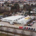 CHV Containeranlage Einkaufszentrum Wien Südstadt Übersicht