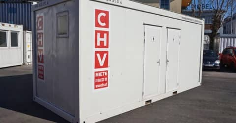 20ft WC-Container CHV-300WCDH