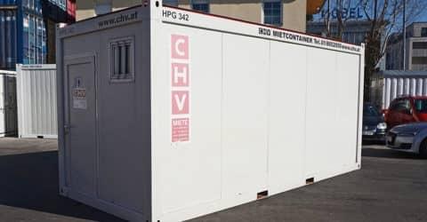20ft WC-Container Herren CHV-300WCH