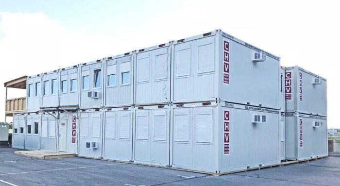 chv Baubüro Austro Control Containeranlage