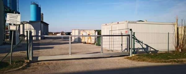 Büro Doppelanlage Sammelzentrum für Sondermüll