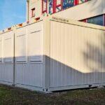 CHV Gemeinde Mannersdorf Containeranlage Schule