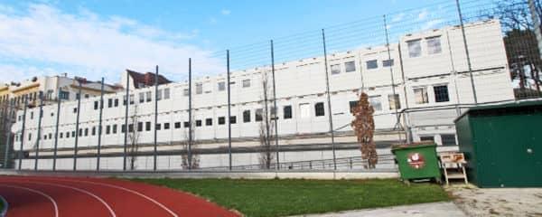 Containeranlage Schule Wien Währing