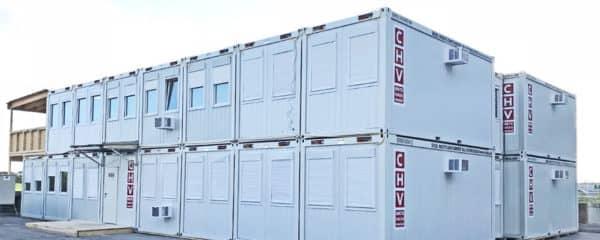 Baustellen Containeranlage Austro Control