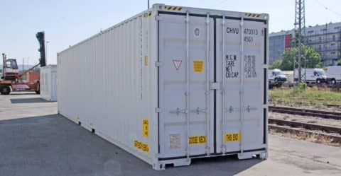 CHV Container 40ft High Cube Double Door Good as New HCDDGN