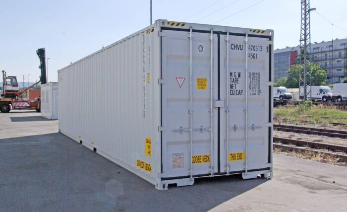 CHV Container 40FT High Cube Double Door neuwertig