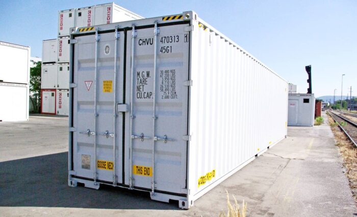 40' High Cube Double Door Shipping Container - CHV : CHV
