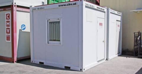 10ft Bürocontainer gebraucht