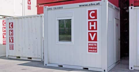 10ft Bürocontainer CHV156 NEU!