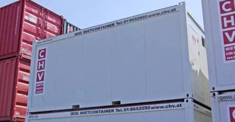 20ft Bürocontainer Fenster seitlich