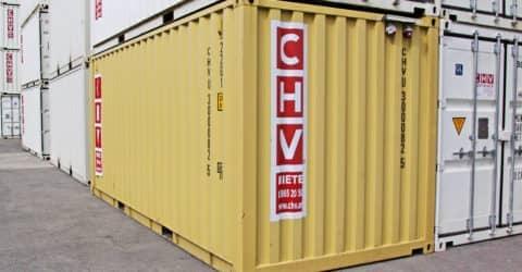20ft ISO Seecontainer gebraucht mit Elektrik