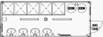 CHV-300DU 20 fuß Duschcontainer 6m