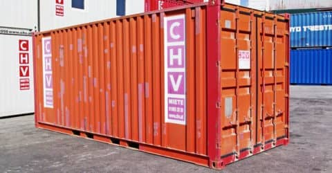 20ft Stahlcontainer gebraucht