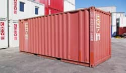 20ft Lagercontainer rot gebraucht 210.463-8