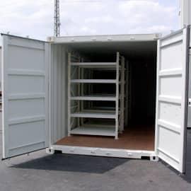 CHV-Mietcontainer-Werkstatt-Container-Regale