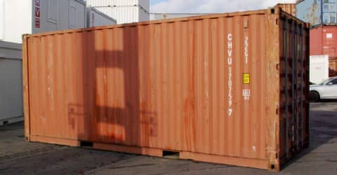 20ft Lagercontainer gebraucht