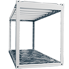 Bürocontainer Stahlrahmen