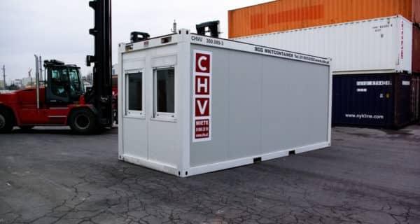 CHV 300 Fenster stirnseitig