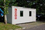 CHV-Bürocontainer Events-CHV316 - Fenster und-Türr seitlich1