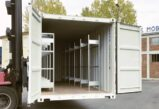 CHV Lagercontainer Werkstattcontainer Regal Container
