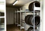 CHV Lagercontainer Werkstattcontainer 20 Fuß Reifencontainer