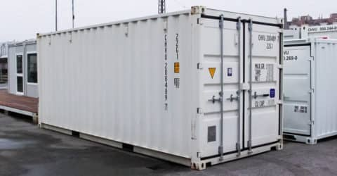 20ft ISO Container Easy Open neuwertig